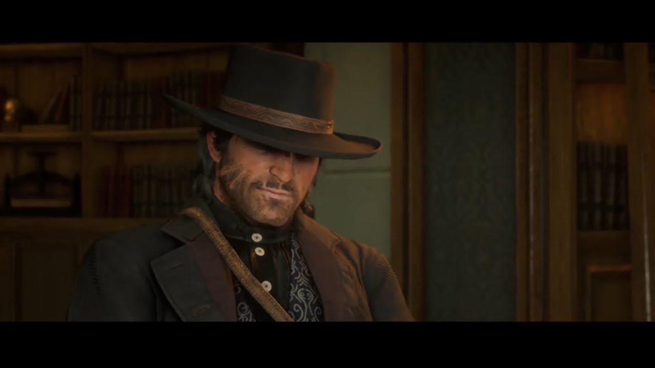 Red Dead Redemption 2- John and Strangers talk about Arthur(all stranger dialogue)