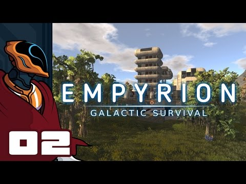 Let's Play Empyrion: Galactic Survival - Gameplay Part 2 - Extreme Hovercraft Skills