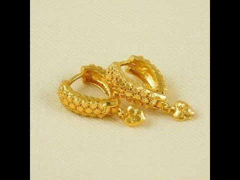 Latest light weight gold Earring designs with weight Under 3 to 6 Gram