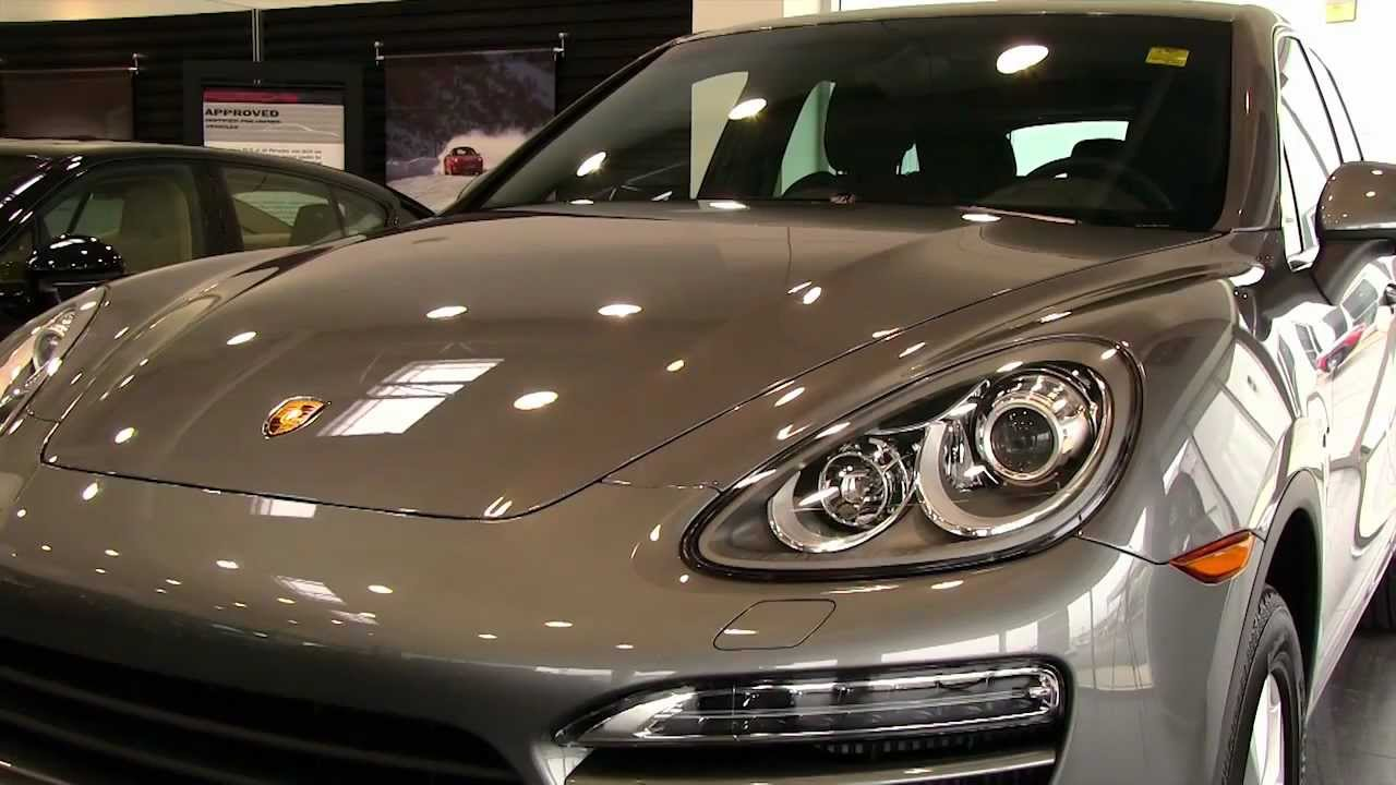 New 2013 Porsche Cayenne sel video tour at Silver Spring MD ...