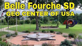 Belle Fourche South Dakota - USA Geo Center Museum