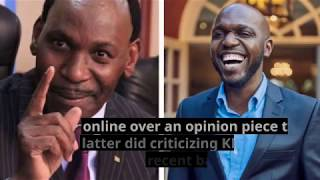 SCATHING ATTACK: This could be Ezekiel Mutua's new low