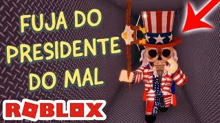 VIREI O PRESIDENTE DO MAL - THE CLOWN KILLINGS REBORN no ROBLOX