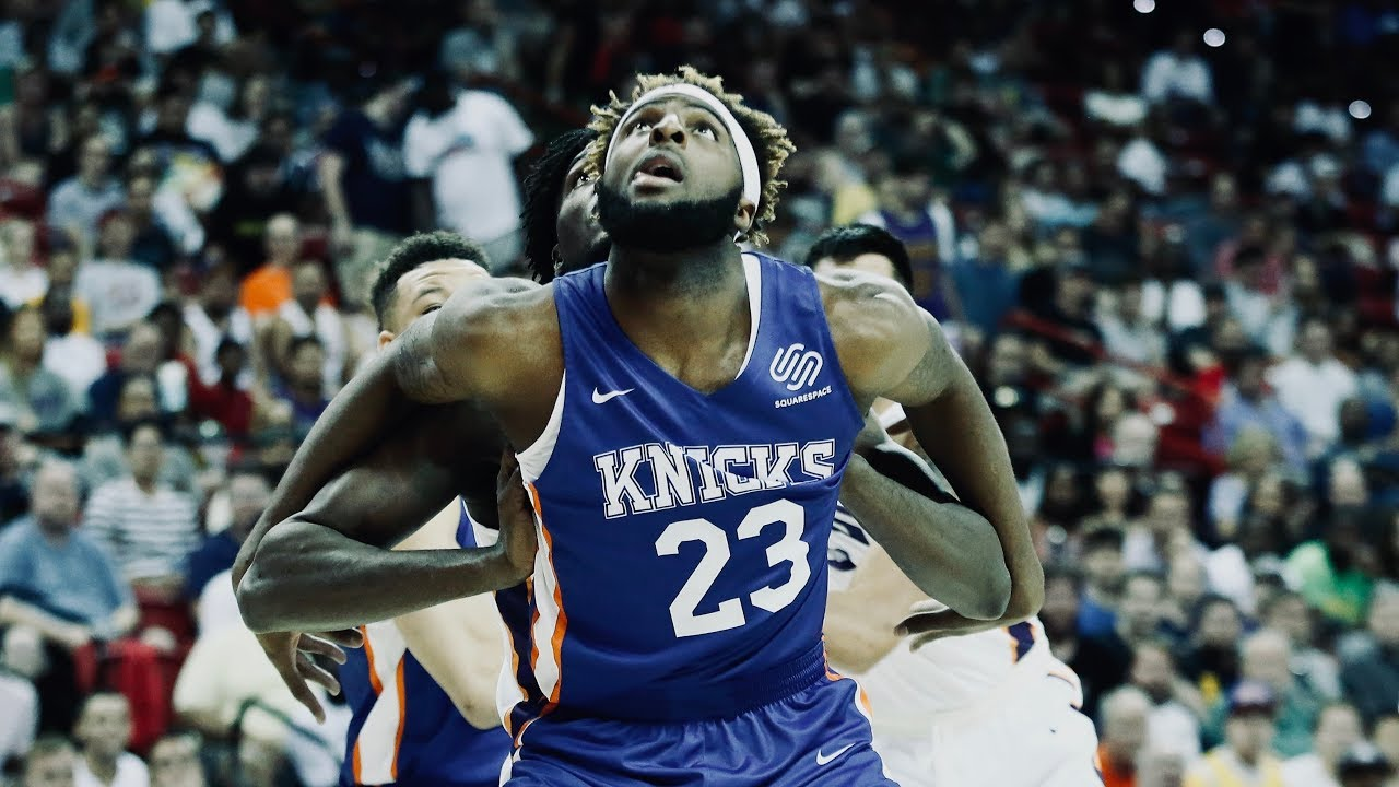Mitchell Robinson's Athleticism Is WILD For A Big | Top Plays From Summer League