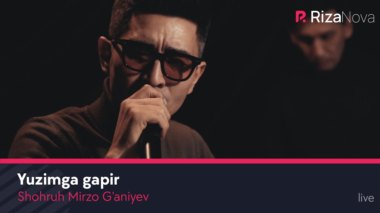Shohruh Mirzo G'aniyev - Yuzimga gapir | Шохрух Мирзо Ганиев - Юзимга гапир (Live Video)