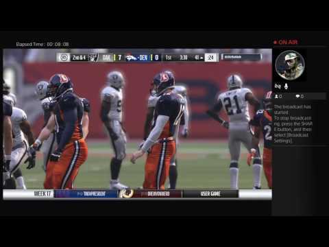 Broncos vs Raiders