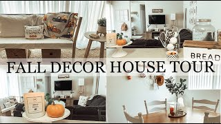 FALL DECOR HOUSE TOUR 2019 | FALL APARTMENT TOUR | AUTUMN AUMAN