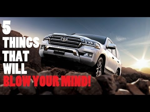 5 THINGS ABOUT THE NEW 2017 TOYOTA LANDCRUISER THAT WILL BLOW YOUR MIND!