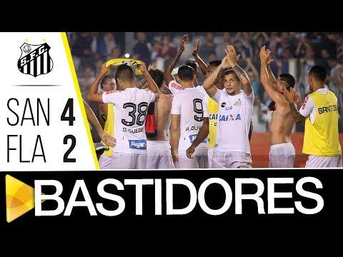 Santos 4 x 2 Flamengo | BASTIDORES | Copa do Brasil (26/07/17)