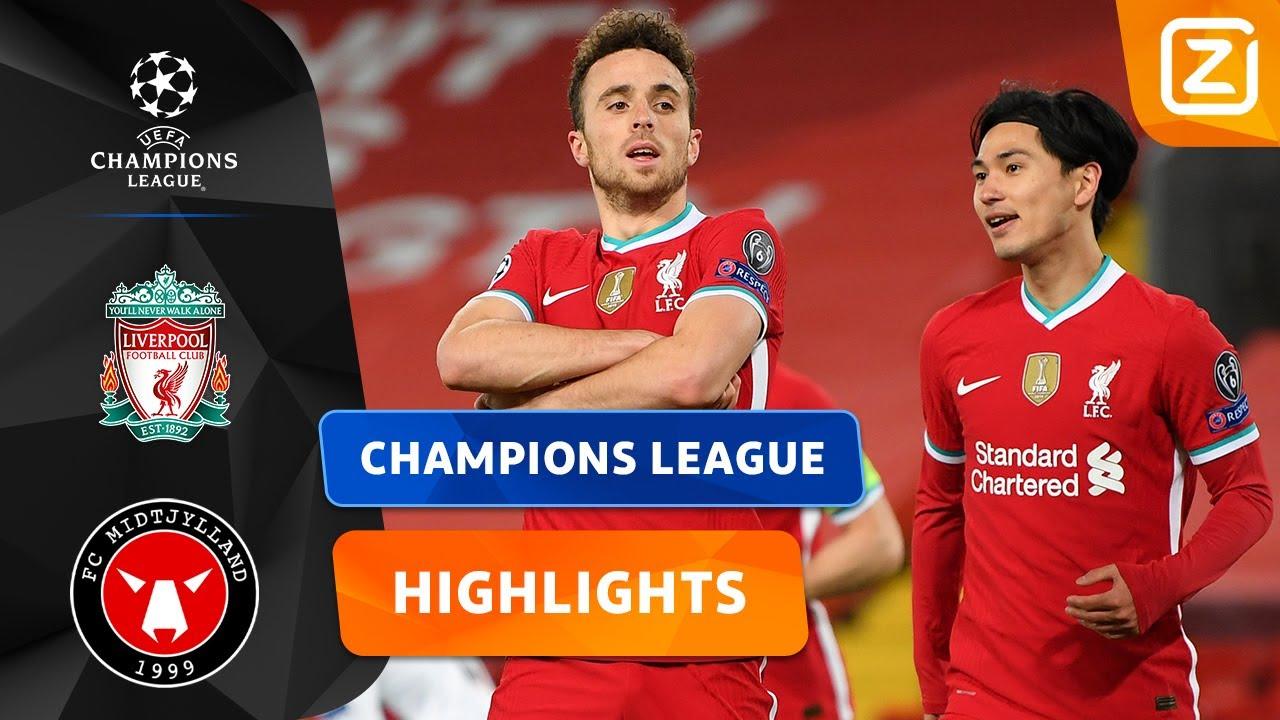 GOED UITGESPEELDE GOAL! 👏🏼 | Liverpool vs Midtjylland | Champions League 2020/21 | Samenvatting