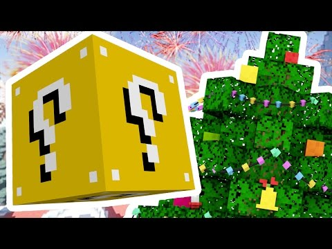 Minecraft 1V1V1V1 SKY ISLAND SUPERHERO CHRISTMAS LUCKY BLOCK BATTLES! | (Minecraft Modded Minigame)