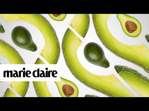 4 Avocado Hacks for Better Skin and Hair | Marie Claire + Garnier Whole Blends