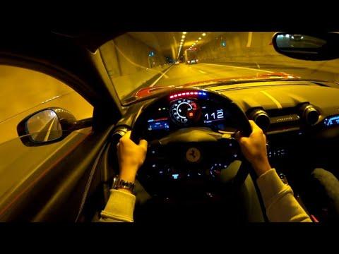 Ferrari 812 GTS - Lovely Acceleration Sounds !