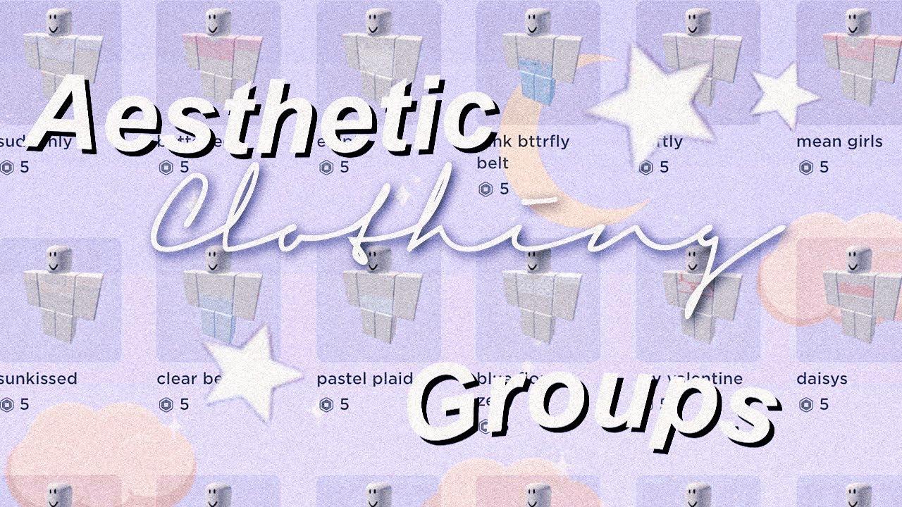 10 Aesthetic Clothing Groups Aurelina Youtube