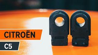 Reparar CITROËN C5 faça-você-mesmo - guia vídeo automóvel