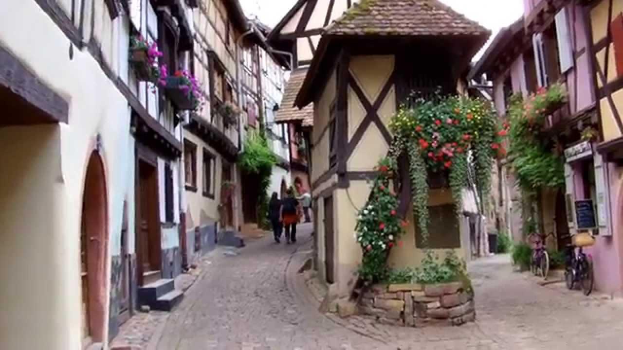 Eguisheim plus beau village de france 2013 youtube for Beau village autour de toulouse