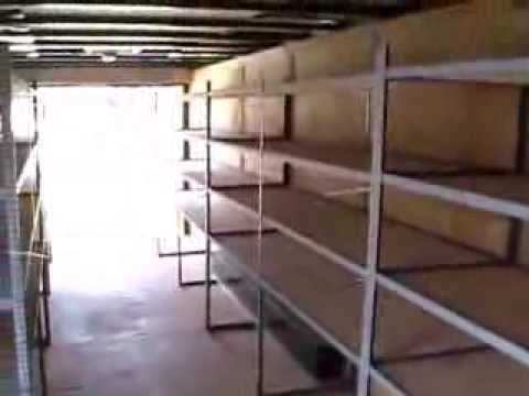 Enclosed Trailer Shelving >> 2000 38 ft Pace Conquest Cargo Gooseneck trailer . $8,995 Firm !! - YouTube