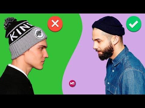 Как модно носить шапку парню