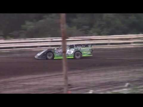 Hummingbird Speedway (8-31-19): BWP Bats Super Late Model Heat Race #2