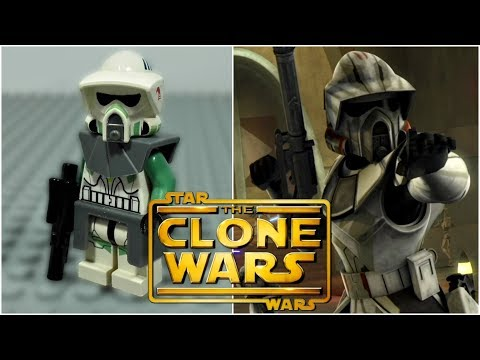 LEGO Star Wars The Clone Wars - Commander Trauma Minifigure Review
