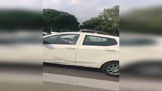 Driver goes against traffic flow on NPE in viral video