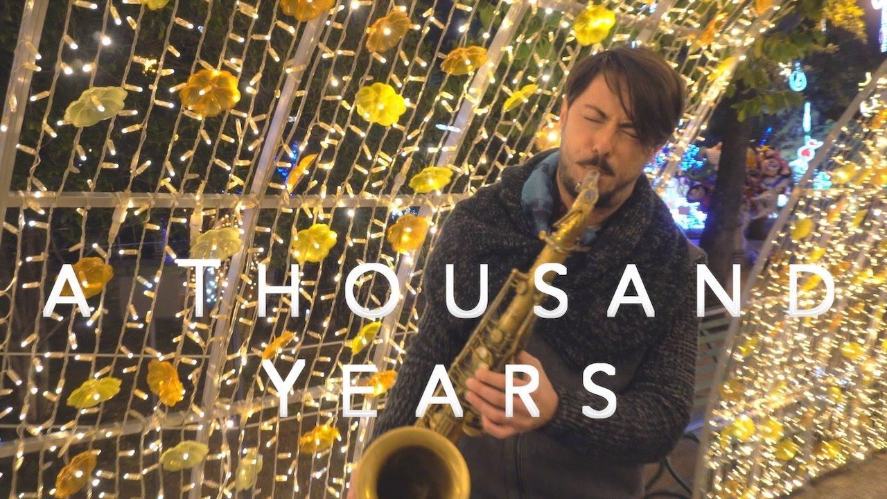 A Thousand Years - Christina Perri (Cover Saxophone Daniele Vitale)