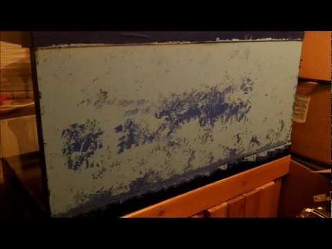 Sponge Painting Aquarium Background Youtube
