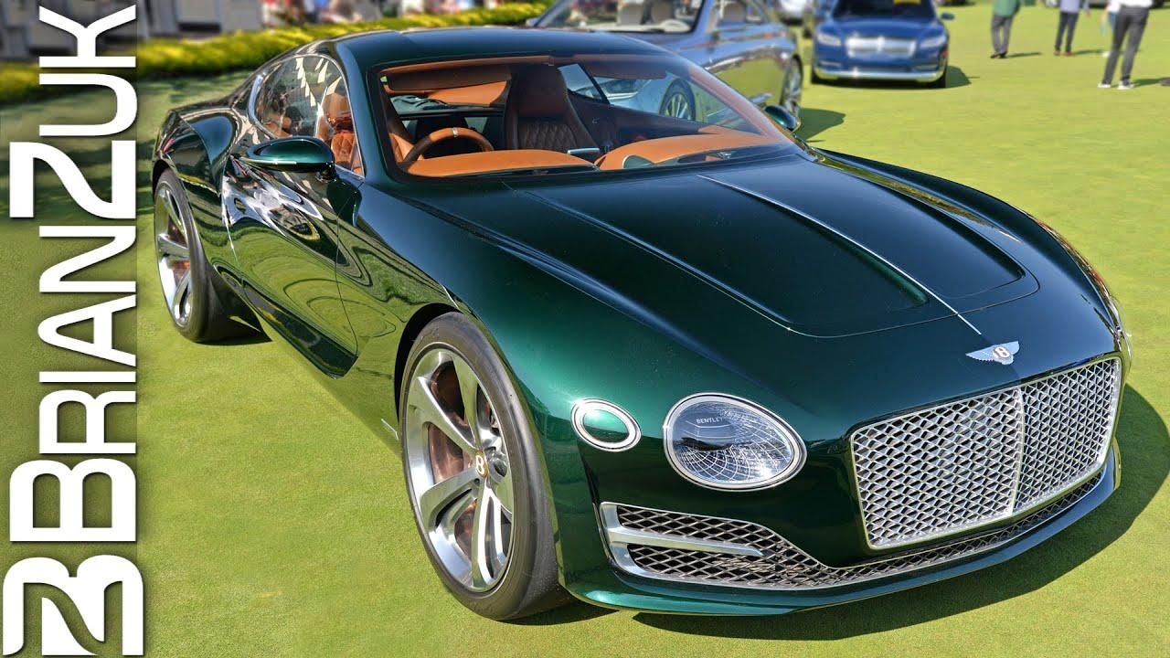 Bentley EXP 10 Speed 6 Concept - YouTube
