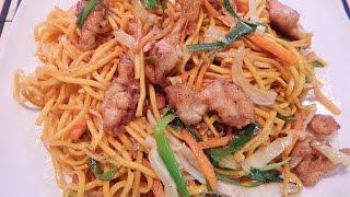 Chinese Chicken Chow Mein Noodlesچاُنیزچکن چاوُمن نوڈلز