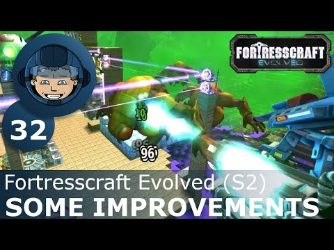 SOME IMPROVEMENTS - Fortresscraft Evolved: Ep. #32 - Gameplay & Walkthrough (S2) |