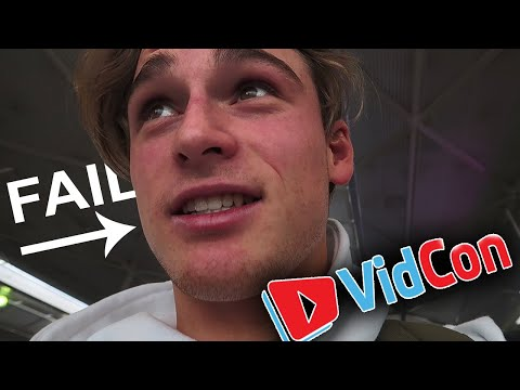 My Vidcon experience was a total disaster.