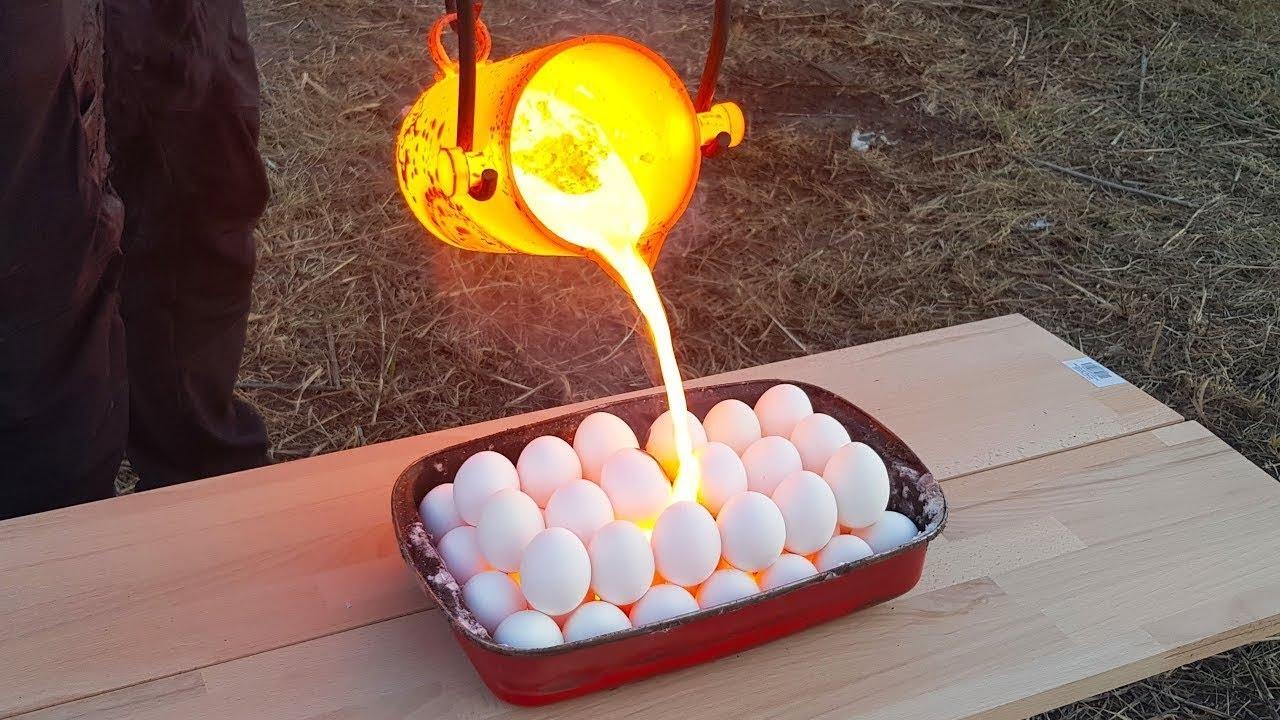 जब अंडो पर डाल दिया लावा फिर हुआ कुछ ऐसा देखकर चौक जाओगे आप ! CRAZIEST EXPERIMENTS ON YOUTUBE PT5
