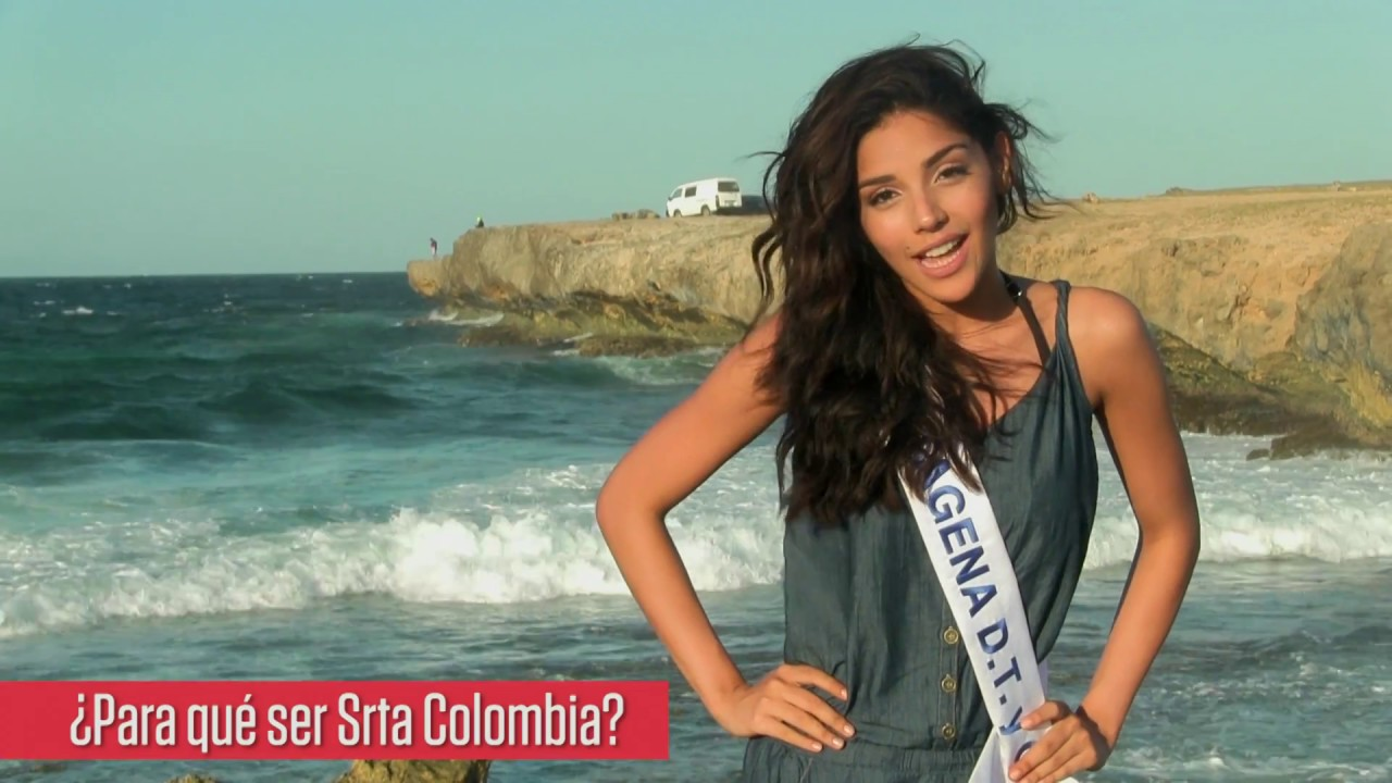 Laura Gonzales Ospina >> Señorita Cartagena: Laura González Ospina - YouTube