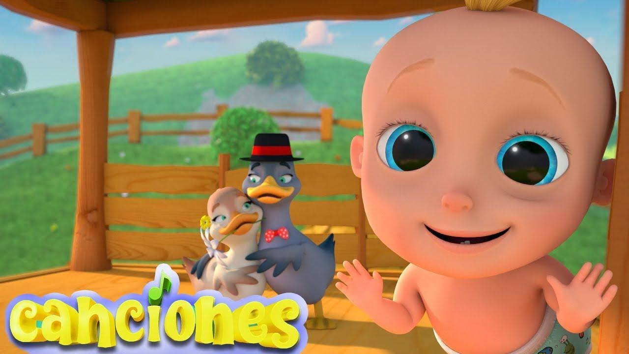 🦆Ganso, Ganso - Canciones Infantiles en Español | Videos para niños | LooLoo