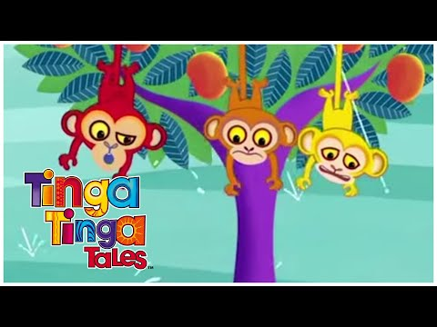 Why Monkeys Swing in The Trees | Tinga Tinga Tales | Cartoons for Kids