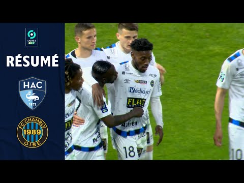 Le Havre Chambly Goals And Highlights