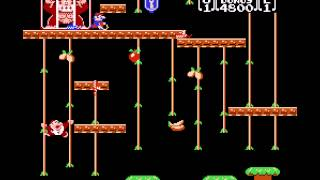 Donkey Kong Jr - NES Remix Netplay Tournament - thephantombrain (P1) v Retroboy (P2) - Round1-1 - User video