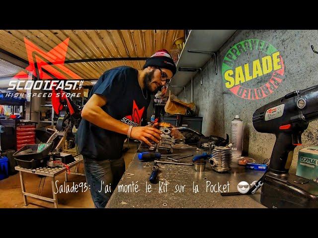 #Salade93: Ça Monte la Pocket en Kit BigBore 🛠🔥/Effectivement, ça Marche bien Mieux 😅👌🚀
