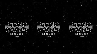 Disney OFFICIALLY Reveals RELEASE DATES For NEW STAR WARS Movies!