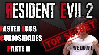 Resident Evil 2 REMAKE    EASTER EGGS y CURIOSIDADES - PARTE II