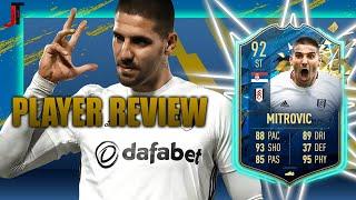 FIFA 20 TOTSSF MITROVIC 92 PLAYER REVIEW