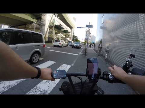 Cycling in Osaka  : Shibata _ Toyosaki Kita Ward _Edoboro _ Utsubo Park