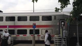 MUST SEE! Long Branch Railfanning Crossing #3, a SUPER RARE Quad Gate crossing!