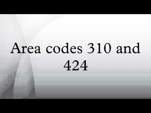 Area Codes And YouTube - What area code is 424