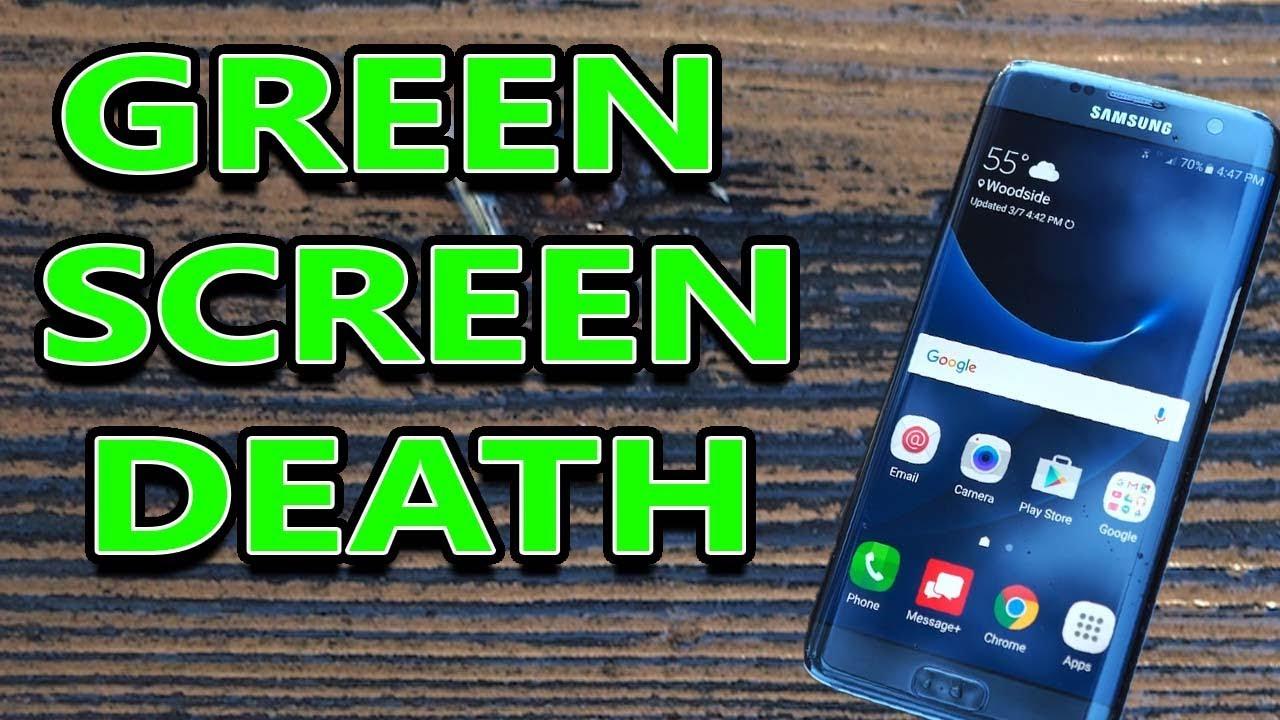 How I Fixed My Samsung Galaxy S7 Edge Green Flickering