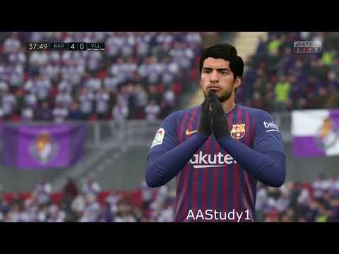 BARCELONA Vs Real Valladolid  - All Goals- 16.02.2019- LA LIGA 2018-2019