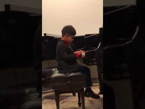 Vikram's fourth public piano recital