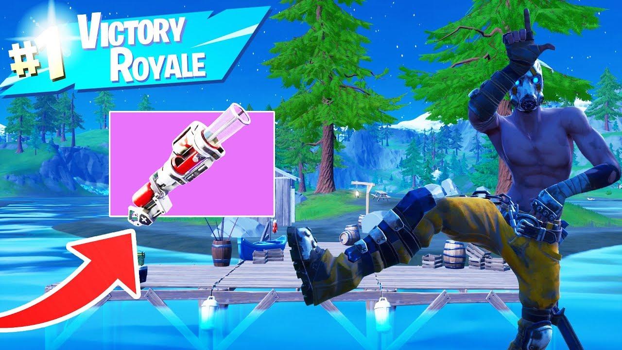 The New Bandage Bazooka Is So Good Fortnite Battle Royale