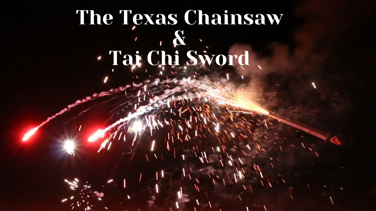 BW1423 BW1425 Tai Chi Sword & The Texas Chainsaw BOOMWOW fireworks