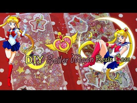 DIY 🌙 Tutorial: Sailor Moon Resin Phone Case 🌙